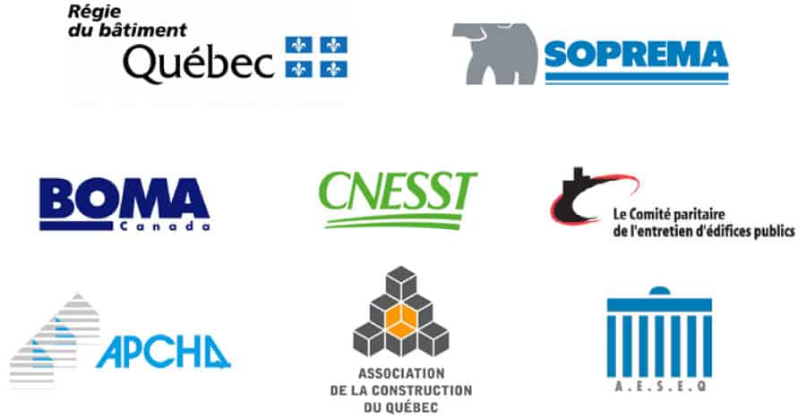 Logos affiliations quebec